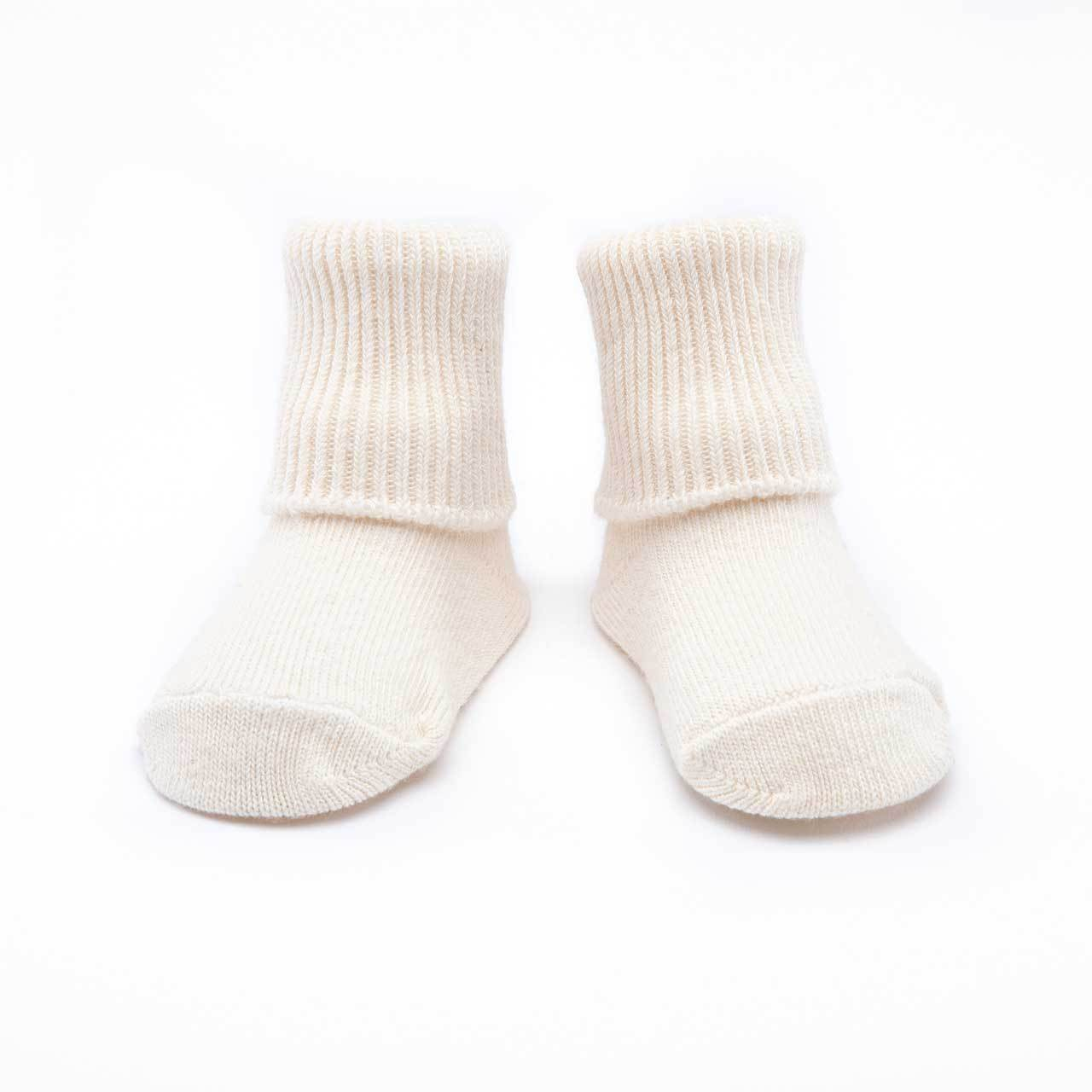 Organic Cotton Baby Sock - Anklet 2-Pak (IS)