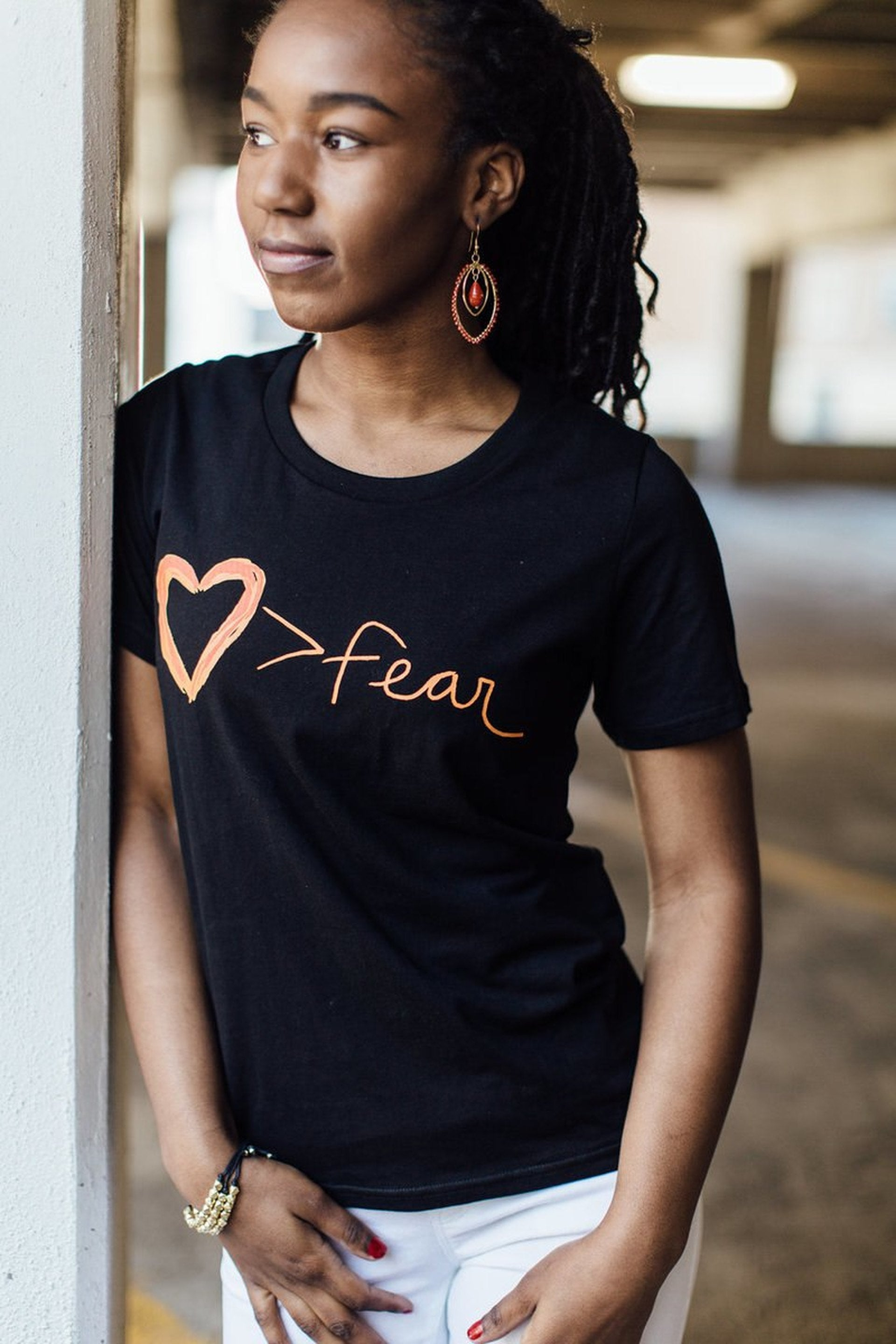Love is Greater Than Fear Tee (IS)