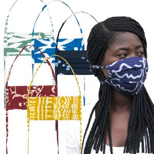 Batik Face Masks from Ghana - Adult (IS)