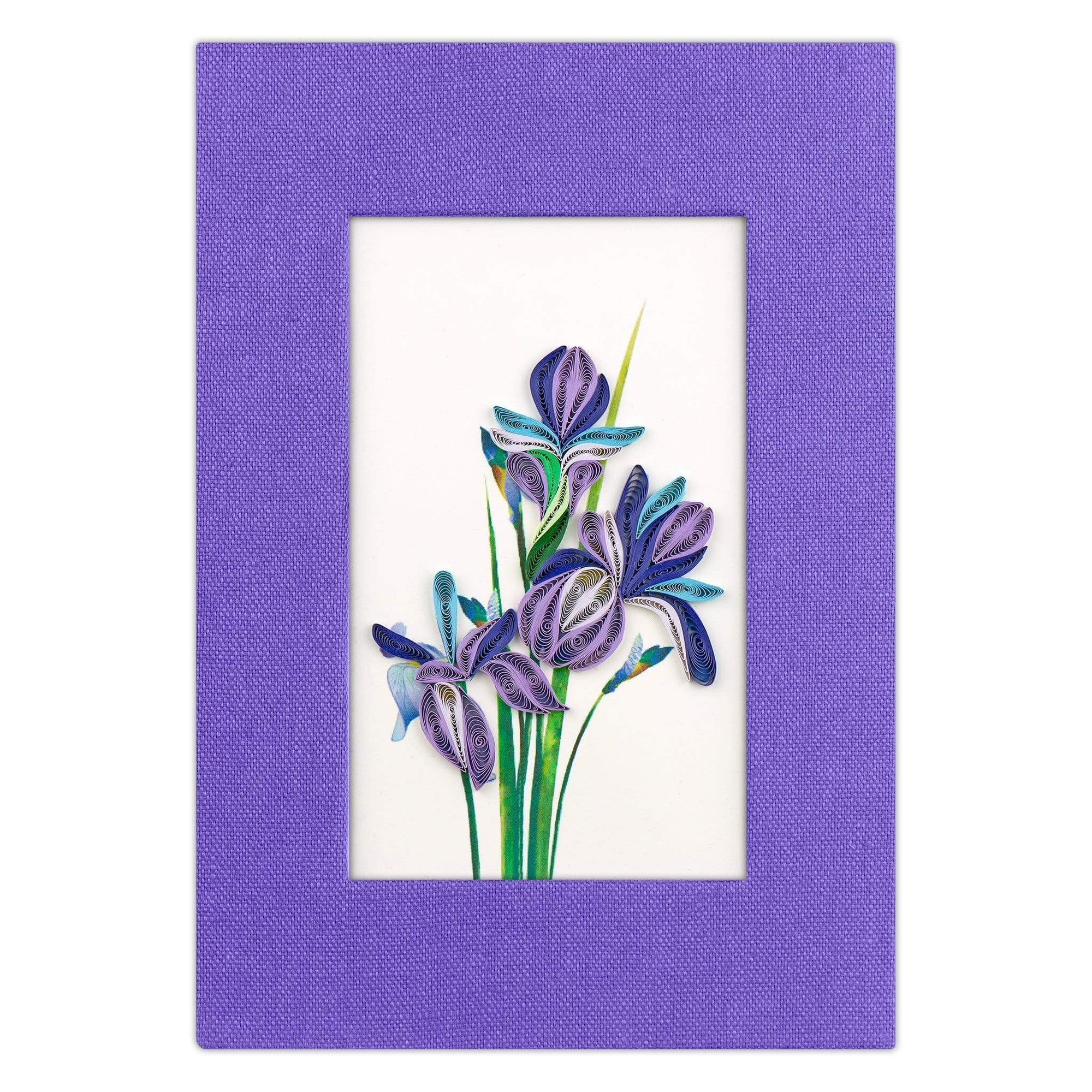 Iris Journal - Lavender