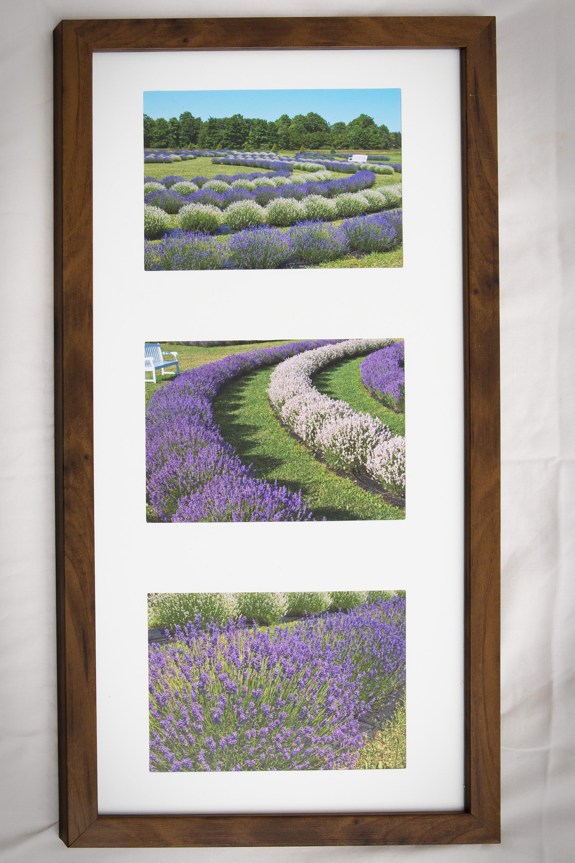 Fragrant Isle Framed Photo Triptych (IS)