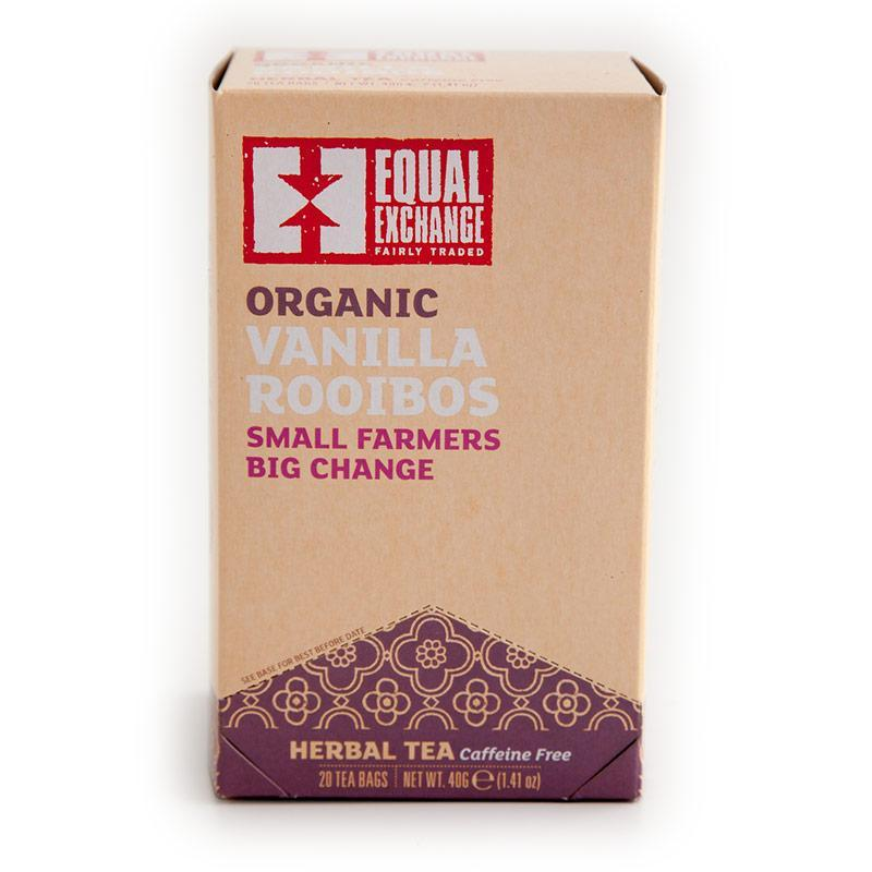 ORGANIC VANILLA ROOIBOS TEA (IS)