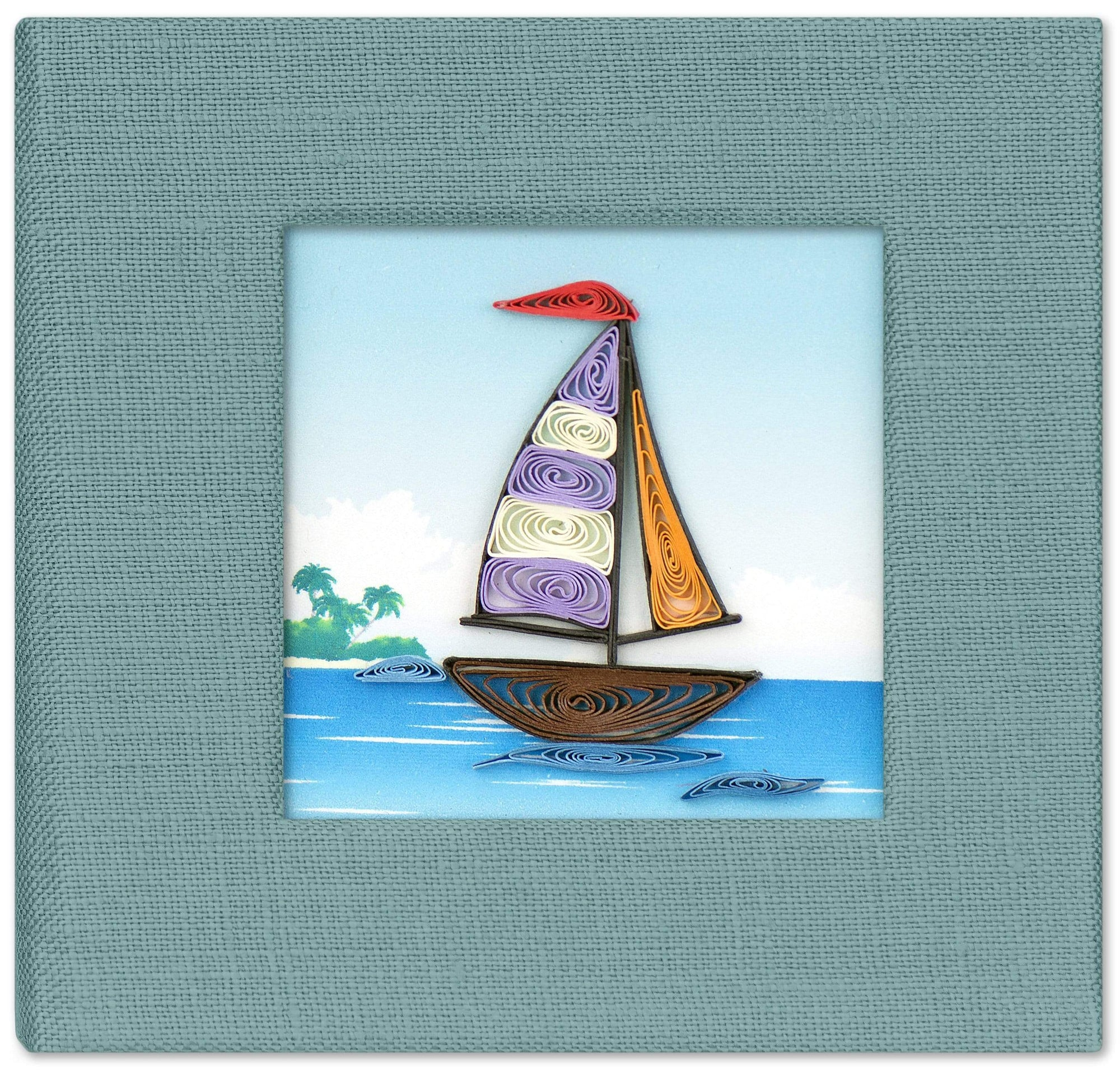 Sailboat Note holder (post it)
