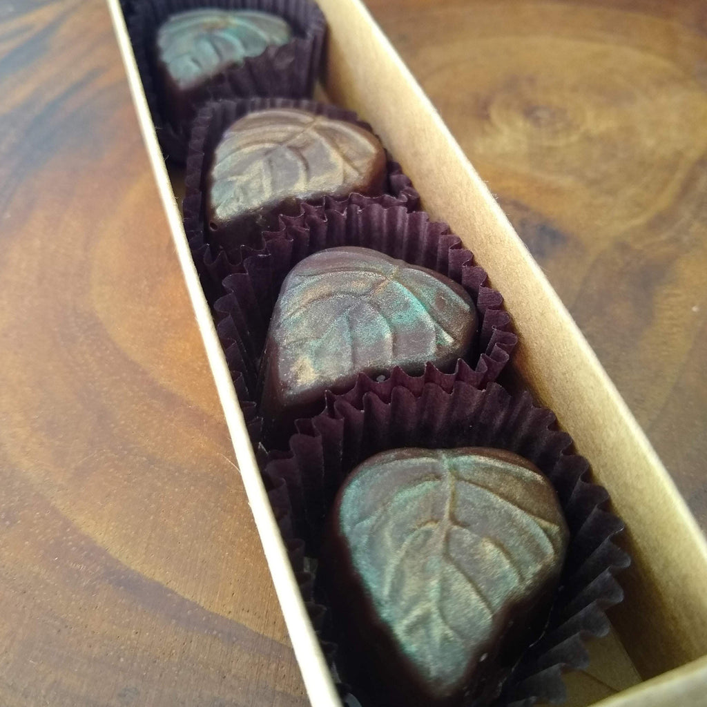 Peanut Butter Leaves - m2 Confections