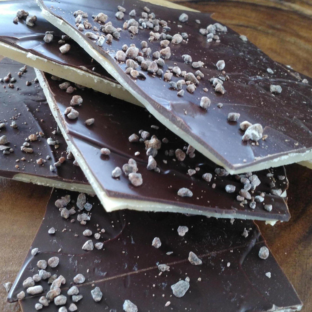 Dark Chocolate Buttercrunch Toffee - m2 Confections