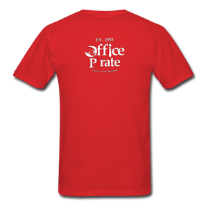 Men's Official 1955 Office Pirate T-Shirt - red