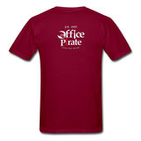 Men's Official 1955 Office Pirate T-Shirt - burgundy