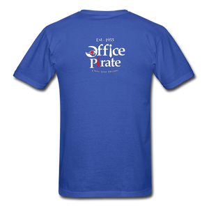 Men's Official 1955 Office Pirate T-Shirt - royal blue