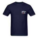 Men's Official 1955 Office Pirate T-Shirt - navy