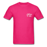 Men's Official 1955 Office Pirate T-Shirt - fuchsia