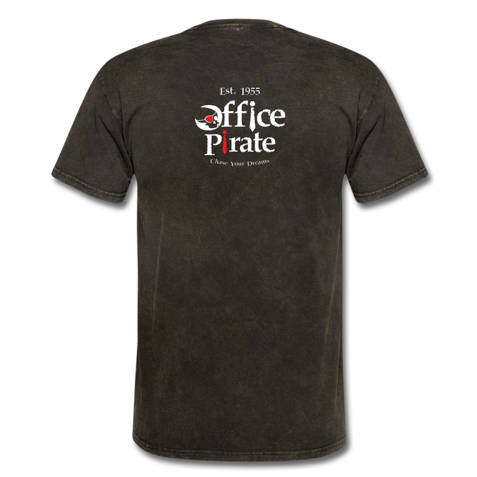 Men's Official 1955 Office Pirate T-Shirt - mineral black