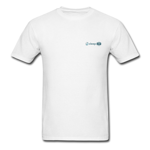 Men's Official SleepZm T-Shirt - white