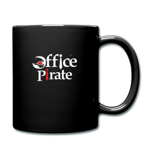 Official Office Pirate Mug - black