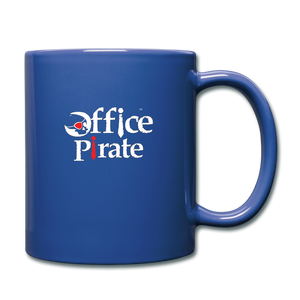 Official Office Pirate Mug - royal blue