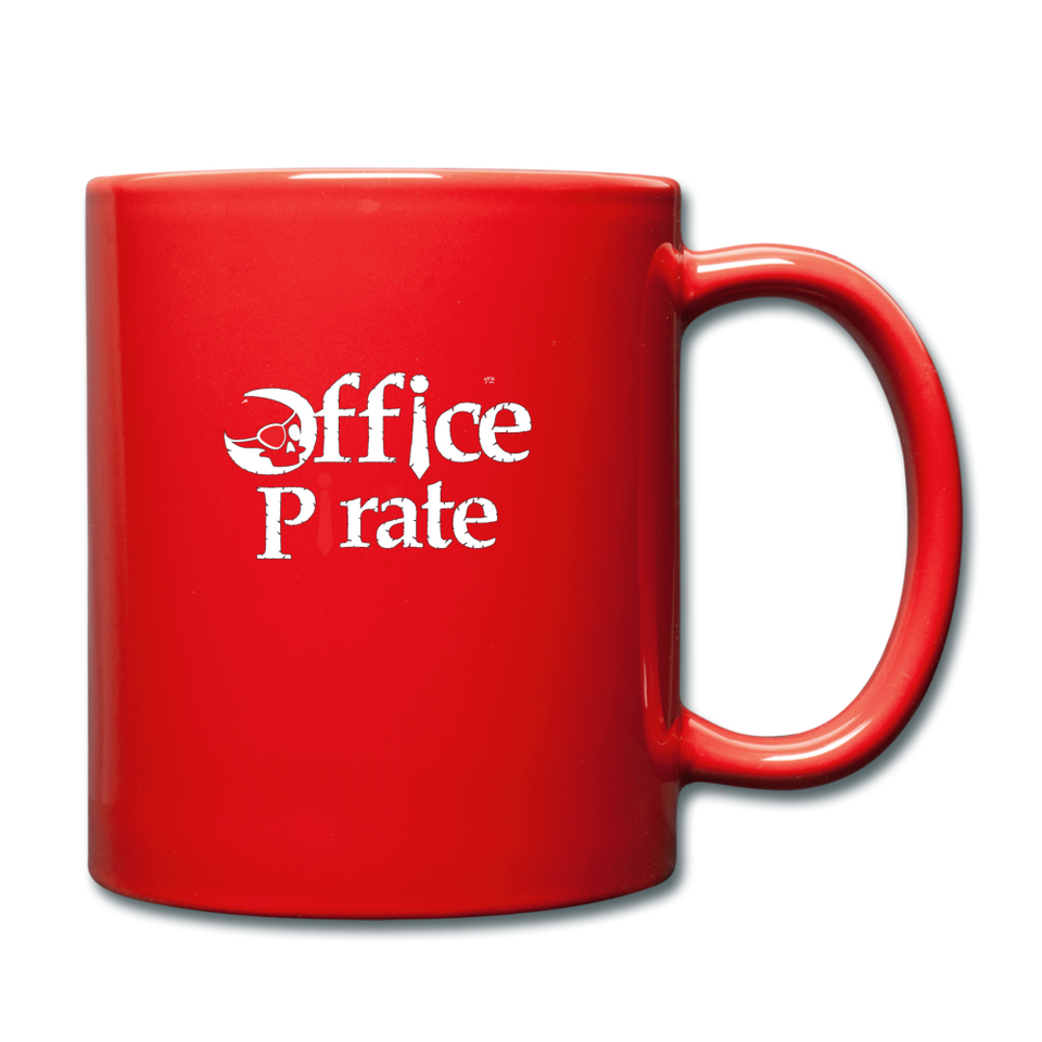 Official Office Pirate Mug - red