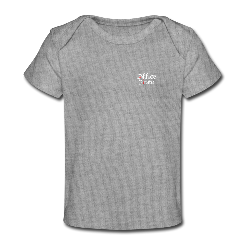 Organic Baby T-Shirt - heather gray