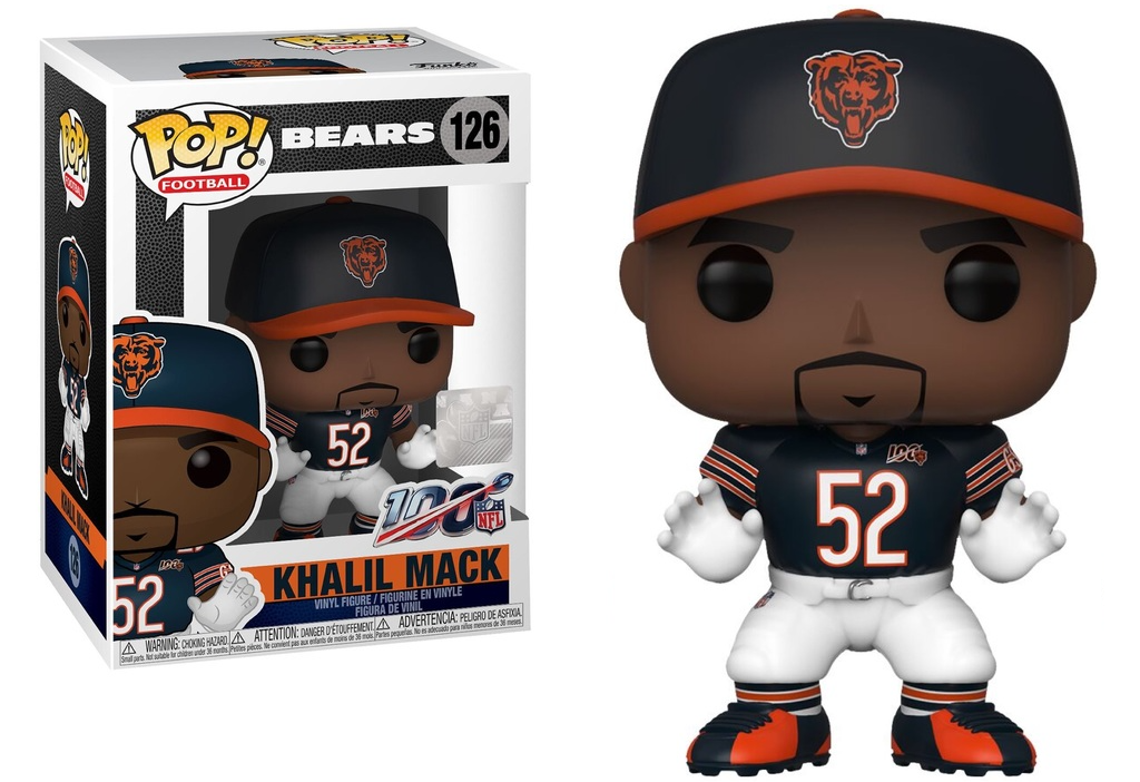 NFL Funko POP! Khalil Mack Chicago Bears #126