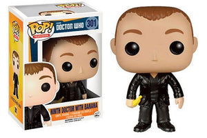 Doctor Who Funko POP! Ninth Doctor with Banana #301