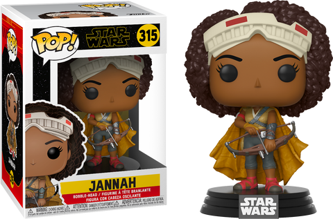 Star Wars Episode IX Funko POP! Jannah #315
