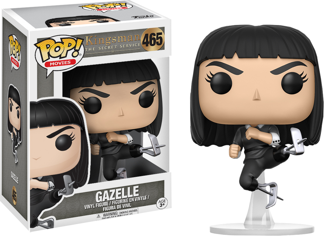 Kingsmann Funko POP! Movies Gazelle #465
