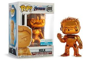 Marvel Funko POP ! Hulk Orange Chrome #499