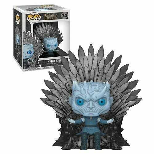 Game of Thrones Funko POP! Night King on Iron Throne Oversized #74