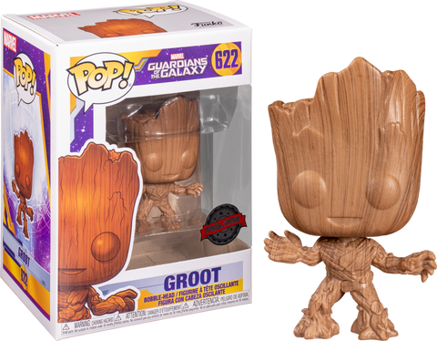 Marvel Funko POP! Groot wood #622