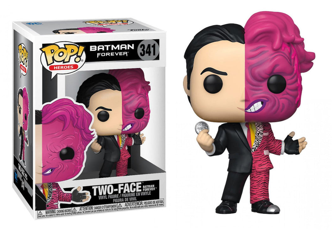 Heroes Funko POP! Batman Forever Two Face #341