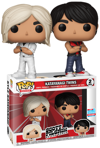 Scott Pilgrim Funko POP!  Katayanagi Twins 2-Pack NYCC