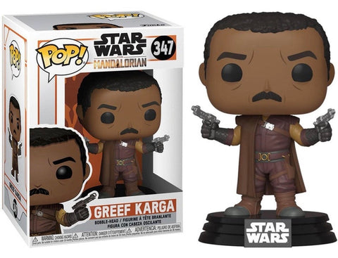 Star Wars The Mandalorian Funko POP! Greef Karga #347