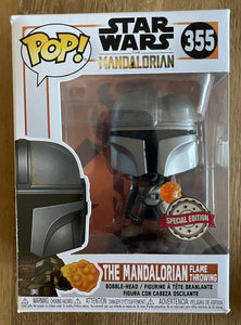 OUT OF BOX Sammler - The Mandalorian Flame Throwing #355