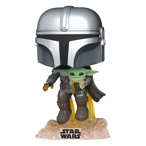 Star Wars The Mandalorian Funko POP ! The Mandalorian w The Child #402