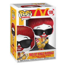 Laden Sie das Bild in den Galerie-Viewer, Mc Donald´s Funko POP! Rock out Ronald Mc Donald #109