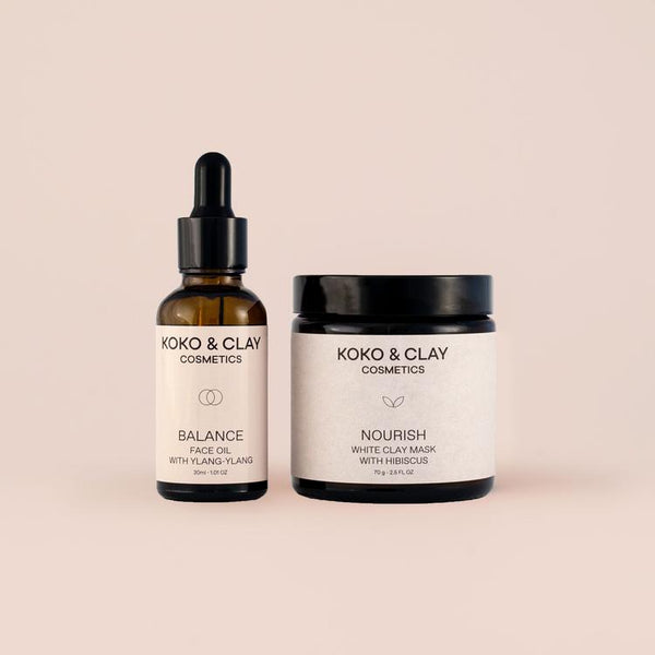 Skincare Duo - Charcoal Maske & Face Oil