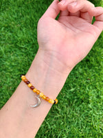 Baltic Amber with Manini Moon