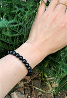 Black Onyx with Crescent
