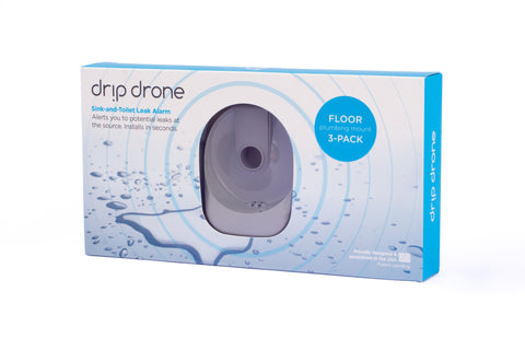 Drip Drone Leak Detection for sinks and toilets