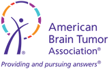 American Brain Tumor Association official logo with the tagline Providing and pursuing answers. The logo is colorful and a registered trademark.