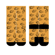 Load image into Gallery viewer, ALL-OVER TRIBE LOGO SOCKS