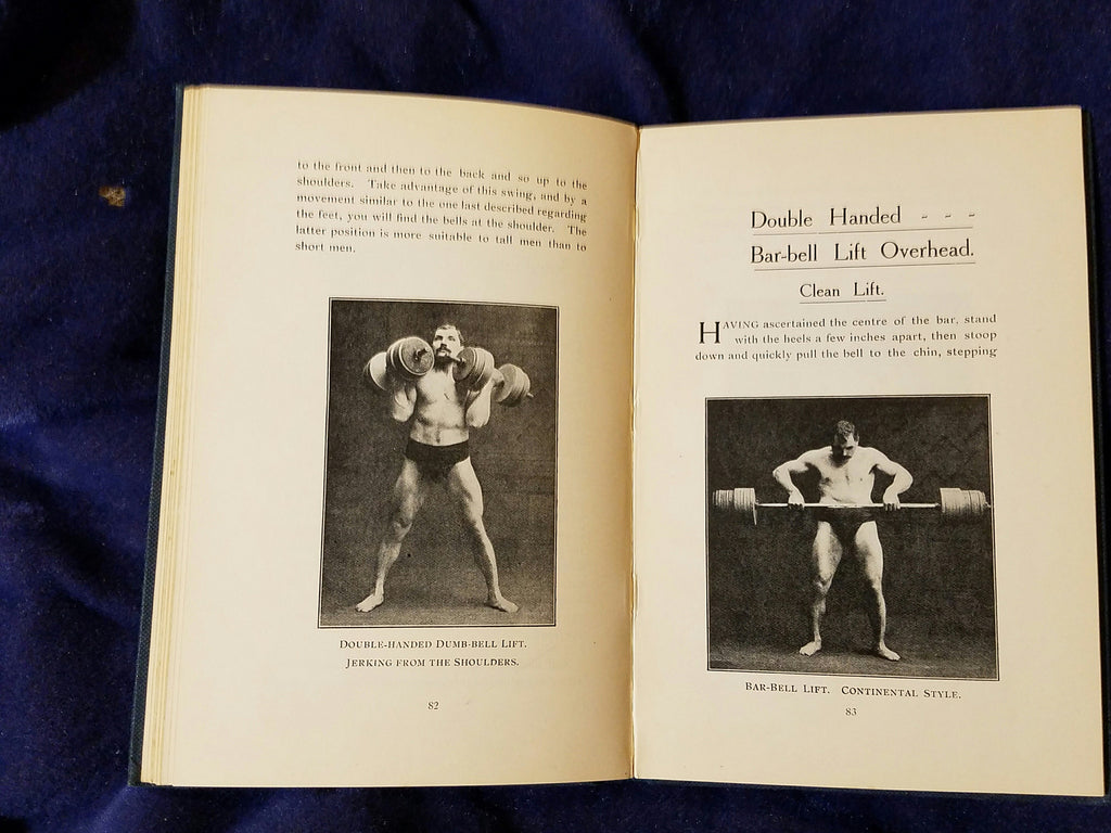 Development of Physical Power by Arthur Saxon – formerly Shakespeare
