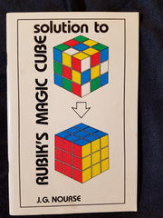 Solution to Rubik's Magic Cube by J. G. Nourse