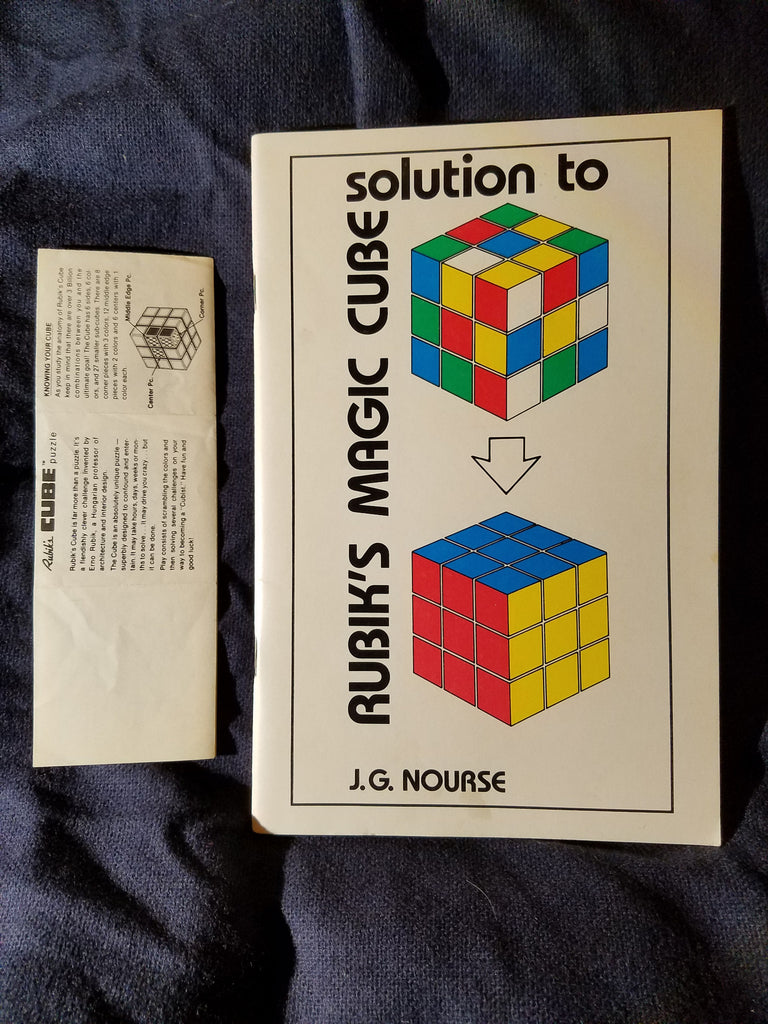 Solution To Rubiks Magic Cube By J G Nourse
