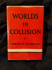Worlds in Collision by Immanuel Velikovsky.  First Printing