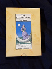 Alchemical Tarot by Rosemary E. Guiley and Robert Michael Place boxed set of book and cards