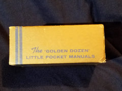 """Golden Dozen"" Little Pocket Manuals from Joe Bonomo's Wonderful World of New Health, Energy, Glamour..."