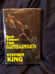 Dark Tower: The Gunslinger by Stephen King. FIRST EDITION. 1982.