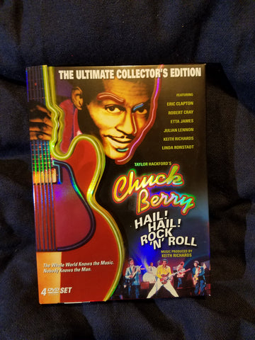 Chuck Berry - Hail! Hail! Rock N' Roll. DVD. 4-Disc Set.