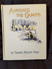 Among the Camps by Thomas Nelson Page. INSCRIBED BY PAGE