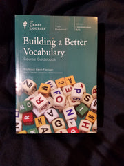 Building a Better Vocabulary Professor Kevin Flanigan. Audio CD 18 discs plus guide book. As new.