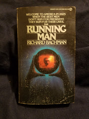 Running Man by Richard Bachman (Stephen King's pseudonym) First Printing